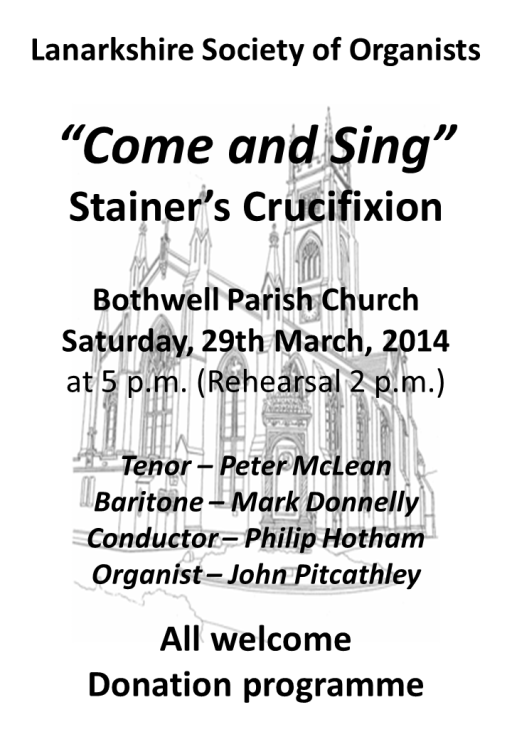 Our Latest Event in Bothwell Parish Church