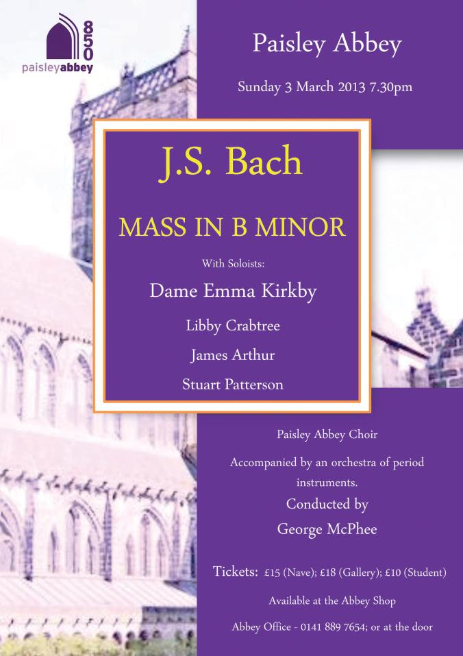 paisley bach mass