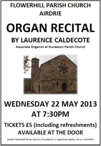 flowerhill organ recital