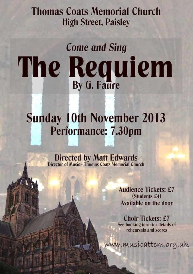come and sing TCM