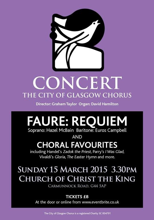 Faure City of Glasgow Chorus