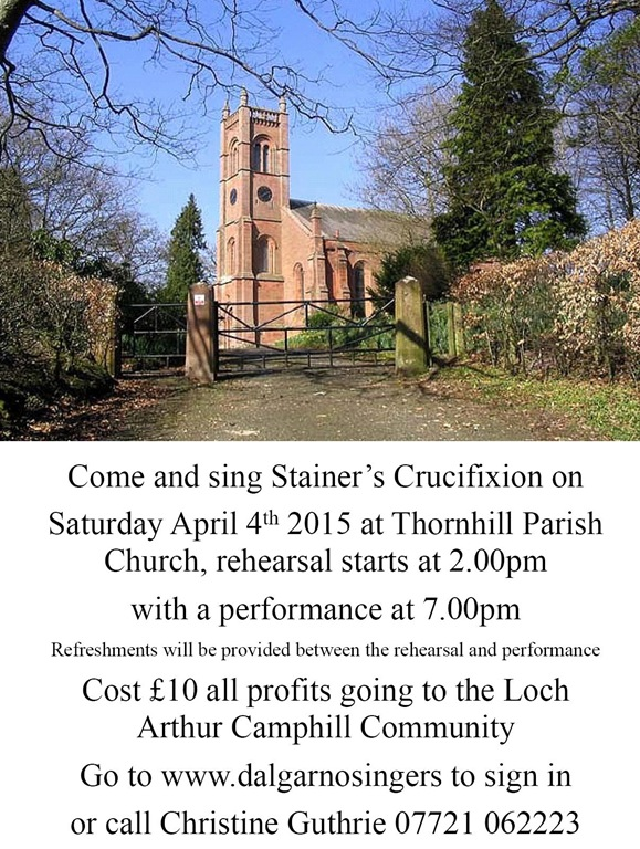 Stainer Thornhill 4th April