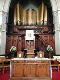 Church-Communion-table